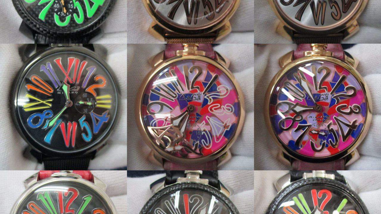 GaGa MILANO(ガガミラノ)時計修理