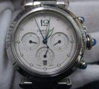 CARTIER パシャ クロノグラフ 2113 メンズ腕時計