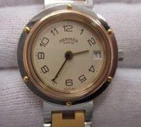 HERMES(エルメス)クリッパー 時計修理