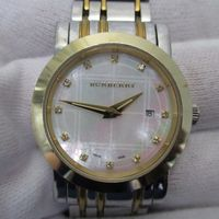 BURBERRY(バーバリー)針修理完了 BU1375 ダイヤインデックス腕時計