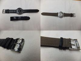 EMPORIO ARMANI(エンポリオアルマーニ) 腕時計 革ベルト交換後
