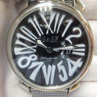 GaGa MILANO(ガガミラノ)マヌアーレ46mm メンズ腕時計のガラス交換