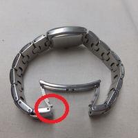 Folli Follie(フォリフォリ)のレディース腕時計のバックル修理箇所