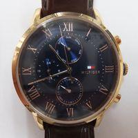 TOMMY HILFIGER(トミーヒルフィガー) メンズ腕時計クロノグラフ TH.329.1.34.2251 ガラス交換後