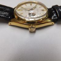 ROLEX(ロレックス)メンズ腕時計オイスターデイト プレシジョン 6494 磨き&金メッキ後