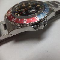 ROLEX(ロレックス)メンズ腕時計GMTマスター ペプシ 16750 リューズ交換後