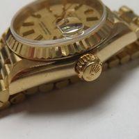 ROLEX(ロレックス)レディース腕時計デイトジャスト金無垢 69178 ケース変色除去