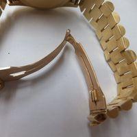 ROLEX(ロレックス)メンズ腕時計デイデイト金無垢ダイヤ付き 18048 新品仕上前