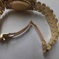 ROLEX(ロレックス)メンズ腕時計デイデイト金無垢ダイヤ付き 18048 新品仕上後