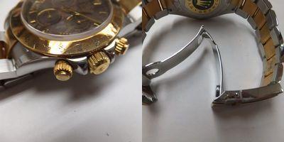 ROLEX(ロレックス)メンズ腕時計デイトナコンビ シェル文字盤 116523 新品仕上前