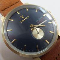 針(分針)外れ状態のTRIWA(トリワ) メンズ腕時計スモセコ FAST104