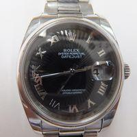 ROLEX(ロレックス)メンズ腕時計デイトジャスト サンビーム文字盤 116200 インデックス外れ(7時)