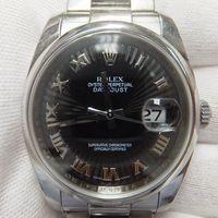 ROLEX(ロレックス)メンズ腕時計デイトジャスト サンビーム文字盤 116200 インデックス修理(7時)